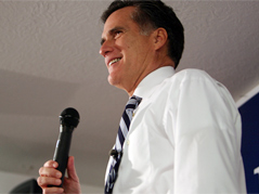 mitt romney \ gop presidential candidate \ republican presidential candidate \ presidential race \ 2008 presidential race \
