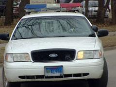 assault USD police vermillion car squad