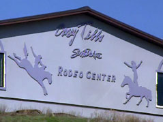 casey tibbs rodeo center south dakota fort pierre