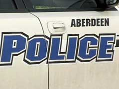 aberdeen police car vehicle logo