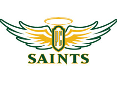 presentation college logo saints
