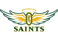 presentation college logo saints