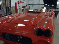1962 corvette john sweeney redo fix-up cancer patient