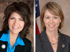 kristi noem republican stephanie herseth sandlin democrat U.S. House campaign