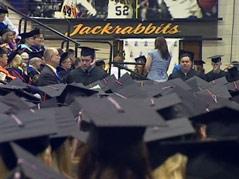 college graduates graduation sdsu brookings jackrabbits
