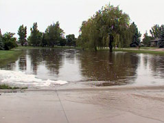 parkston flooding
