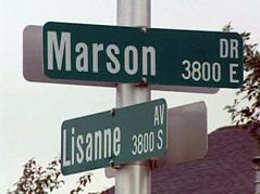 burglaries neighborhood \ marson drive and lisanne avenue