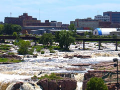 cityscape \ sioux falls \ downtown sioux falls \ sioux falls skyline