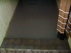 home west of Harrisburg Minnesota Avenue flooding water inside #073010