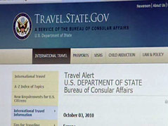 state department terror threat tourism