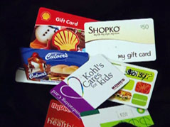 gift cards using for budget
