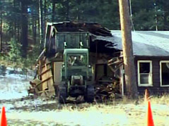 black hills playhouse site demolition buildings torn down