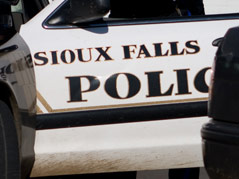sioux falls police car generic shot cruiser