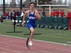 hunter bork dwu runner track team children