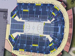 events center sioux falls drawing