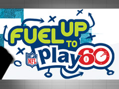 fuel to play 60 nfl program robert frost student LOGO