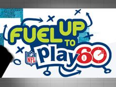 fuel to play 60 nfl program robert frost student LOGO
