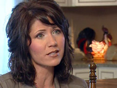 Kristi Noem at home congresswoman representative republican ranch