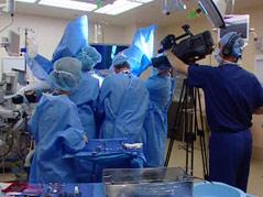 Sanford Urogynecologist Dr. Kevin Benson camera teaching