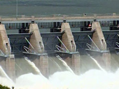gavins point dam yankton area missouri river flooding high water flows