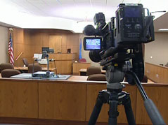 cameras / cameras in court / case