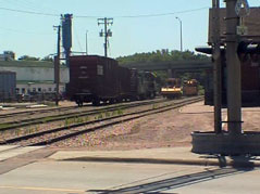 railroad relocation downtown sioux falls train tracks rail yard