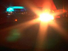 emergency lights night light bar police officials sheriff crime flashing