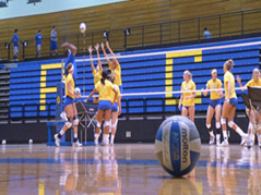 SDSU Jackrabbits Volleyball 2011