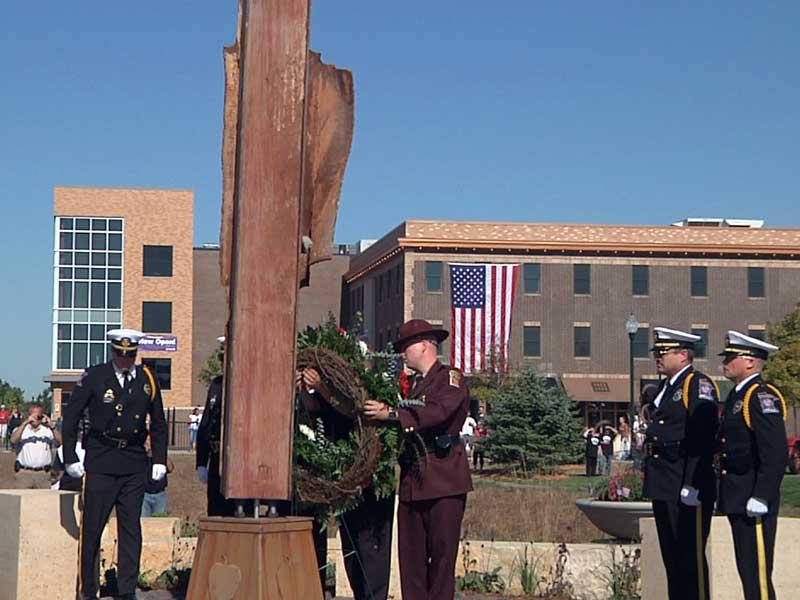 marshall, mn, dedicates 9/11 memorial park