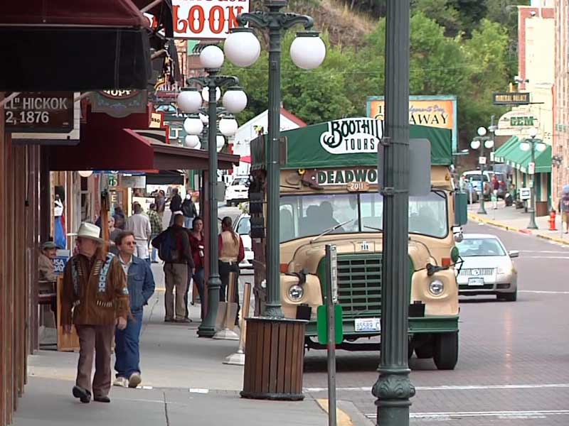 deadwood tourism main street visitors tourists