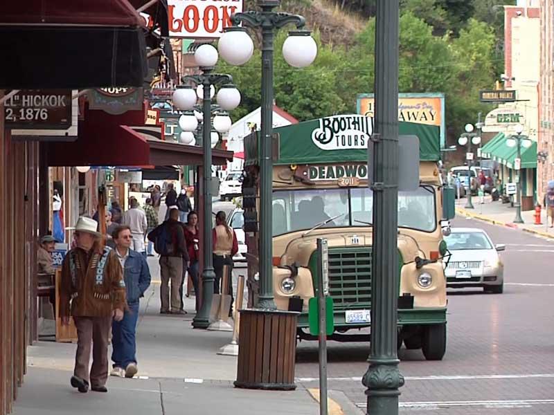 deadwood tourism main street visitors tourists