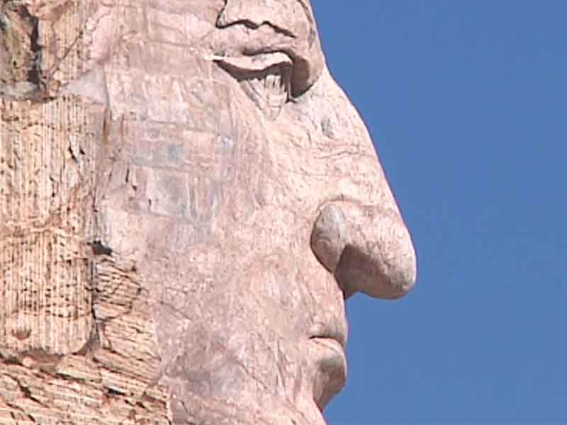 Crazy Horse / monument / building