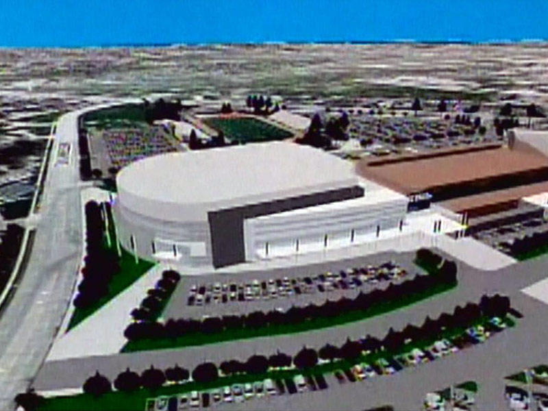 Proposed events center / sioux falls