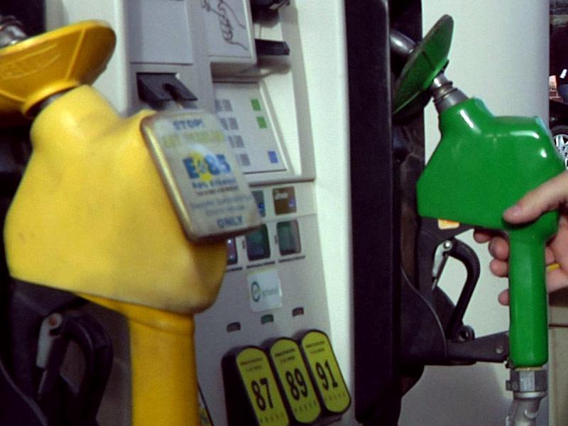 gas prices pump gallon