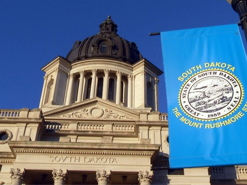 south dakota state capitol pierre building lawmakers legislators
