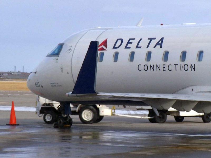pierre airport delta airplane travel