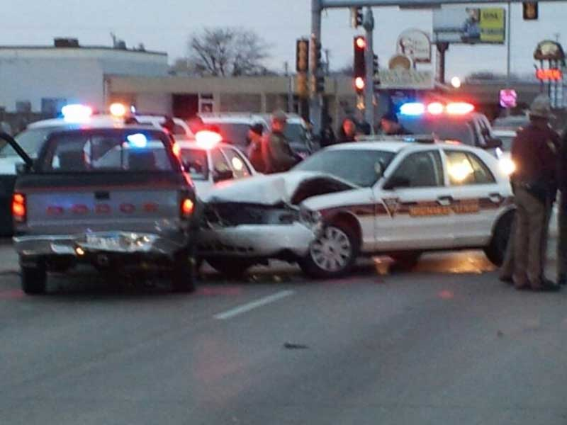 high speed chase ends on 12th street