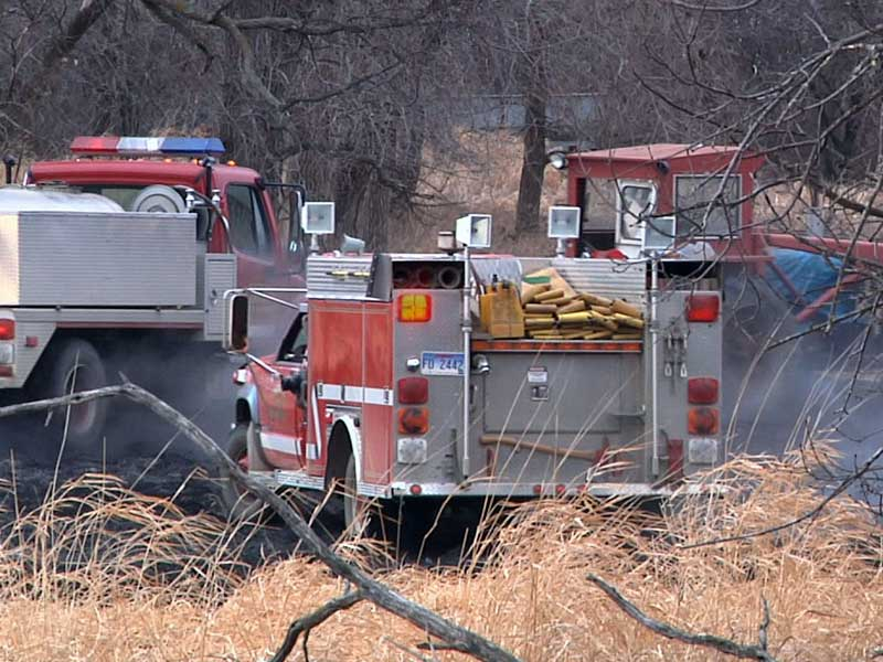 hartford firefighters grass fires