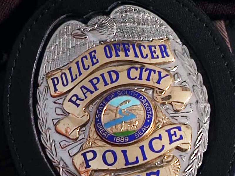 rapid city police department badge generic