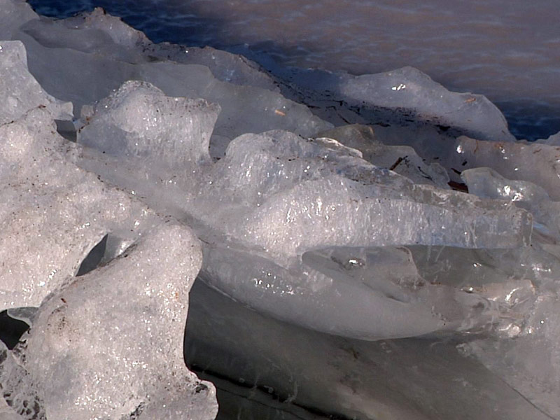 ice winter thin caution dangerous south dakota lake