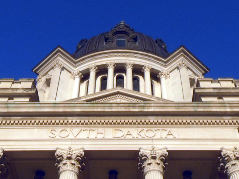 south dakota state capitol pierre building legislature lawmakers