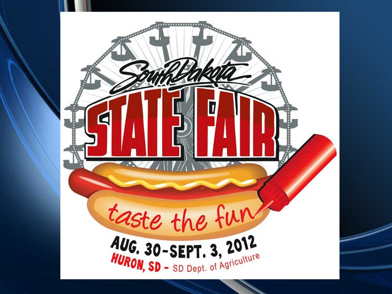 2012 south dakota state fair logo huron taste the fun