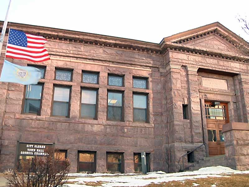 sioux falls carnegie town call city council