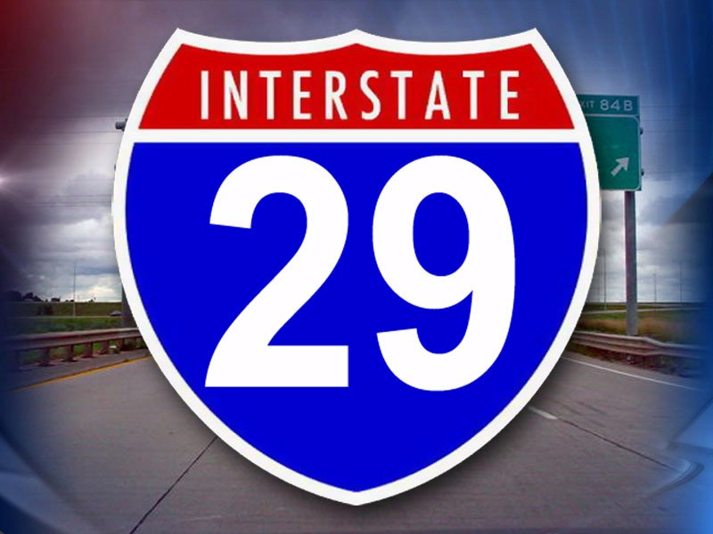 interstate 29 i-29 generic sign