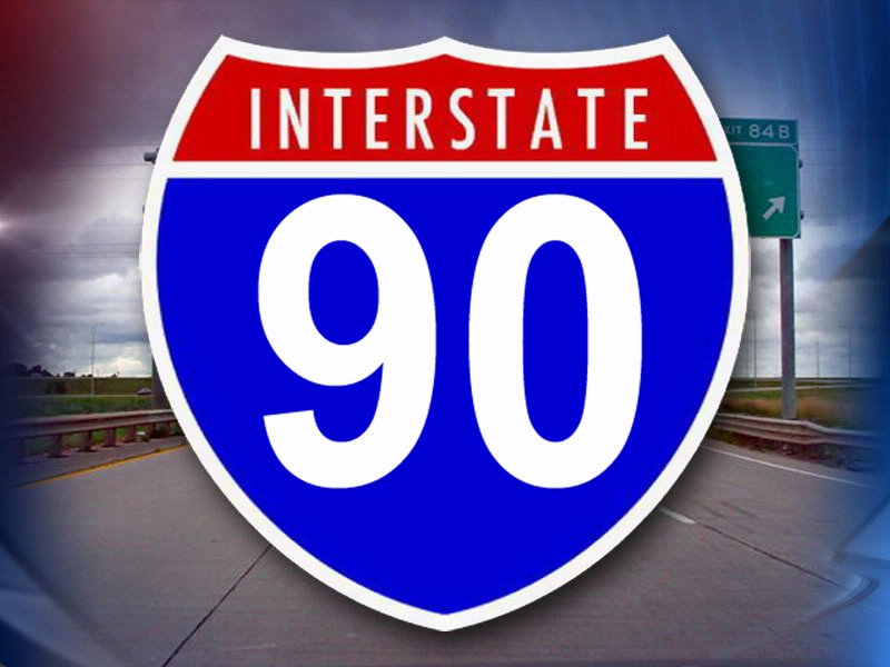 interstate 90 i-90 i 90 i90 sign generic I-90 generic I-90 sign
