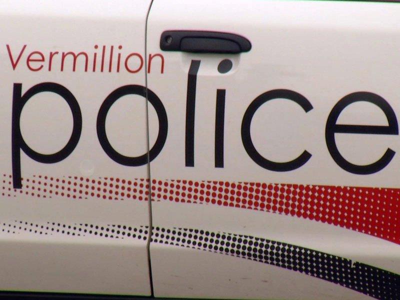 vermillion police crime officer official police car