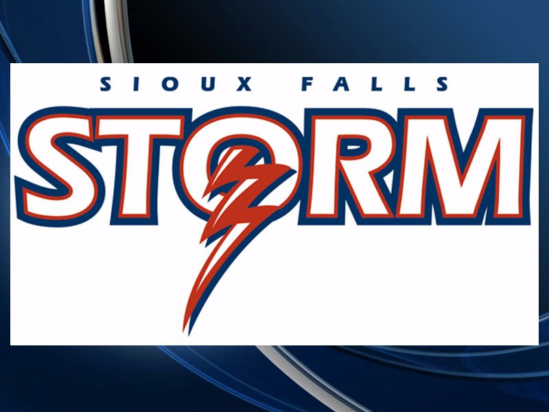 sioux falls storm logo indoor football