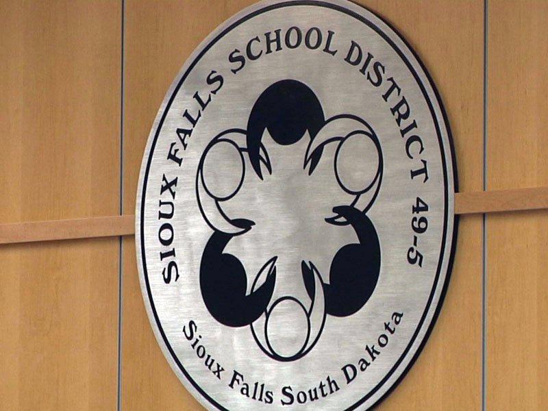 sioux falls school district logo icon seal