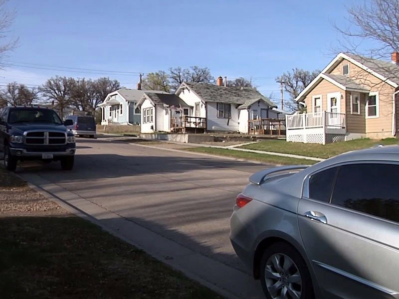 belle fourche neighborhood where man broke into home and raped woman search for man underway crime