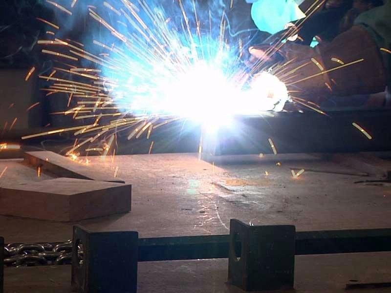 mitchell trail king plant welders needed sparks manufacturing